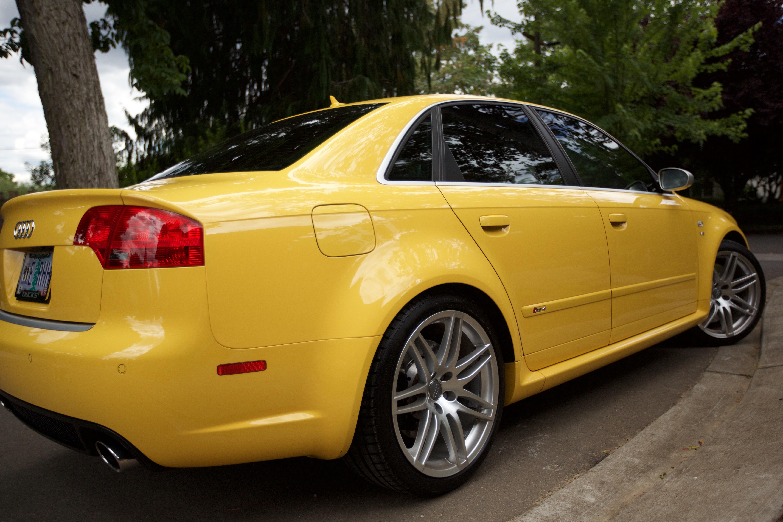 For Sale 2007 B7 Rs4 Imola Yellow